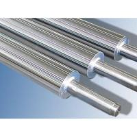 Cheap Anti - corrosive Industrial Steel Rollers , Hard Chrome Plated Steel Roll for sale