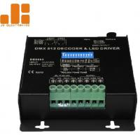 Cheap DC12-24V Dmx Light Controller / Dmx512 Led Controller 10A / CH X 4 Channels Output for sale