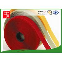 Cheap 10mm - 180mm hook and loop tape for sewing , white velcro tape 100% Eco - Friendly for sale