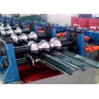 Cheap Expressway Highway Guardrail Forming Machine Pillar Guide Cutting 2-3m/ Min for sale