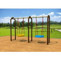 Cheap 1-2 People Sit Childrens Swing Set With Dissimilar Chair 2.5CBM Volume KP-G012 for sale