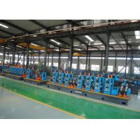 Cheap High Speed Efficiency Capacity Steel ERW Pipe Mill Round & Square Pipe Tube Mill  Making Line for sale