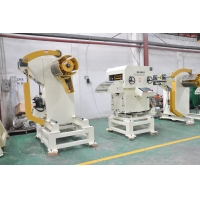 Cheap 500mm Width 8mm Coil ID Metal Sheet Straightening Machine for sale