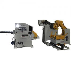 Cheap Yaskawa Motor Sheet Metal Decoiler Punch Automatic Feeder Bar Feed Processing Machine for sale