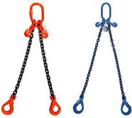 Cheap 2 Legs Assemble Lifting Chain Slings Standard With Combine / Welded Chain Structure for sale