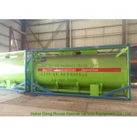 20Feet HCL Acid ISO Tank Container For Shipping UN1789 Steel Lined PE 16mm