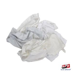 Cheap Drop Waste Second Hand 1kg/Bag 60cm White Cotton Rags for sale