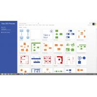 Cheap All Languages Visio 2016 License , Esd 1 GB RAM 32 Bit Visio 2016 License Key for sale