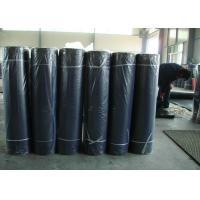 Cheap Black Industrial Rubber Sheet 80+-5 Shore A Hardness 6-12Mpa Tensile Strength for sale