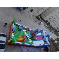 Buy cheap 0.55mm PVC Tarpaulin Outdoor Theme Inflatable Playground For Kids from wholesalers