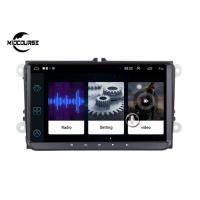 Cheap Back Camera Input Android Car Radio , IPS Capacitive Touch Screen Auto Radio for sale