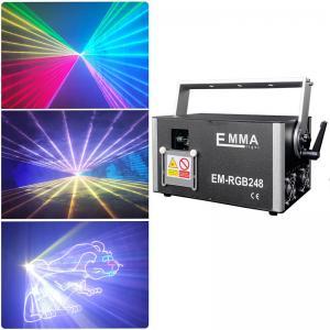 Cheap 3w rgb laser light ,ILDA 3 watt RGB laser projector, 3000mw full color laser for sale