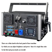Cheap Newly upgraded Best quality 3 watt blue 3d laser 3w dj lights dmx+ilda+sd+2d+3d single color for sale