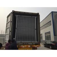 Cheap temporary fencing panels od 32 pipes x 2.00mm hot dipped galvanized temp site fencing panels contruction fencing panels for sale