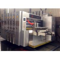 Buy cheap Speed 200 Pcs / Min Fully Automatic Vacuum Feeder Flexo Printer Slotter Die from wholesalers