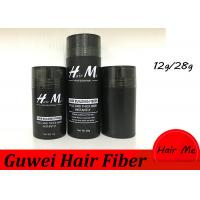 Cheap 15 Colors 12g/28g Hair Building Fibers Instant Thickening The Hair for sale