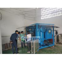 Buy cheap Professional Multi - Stage Transformer Oil Purifier Machine 9000LPH 3 Phase from wholesalers