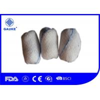 Cheap White Wound Care Dressings 100% Cotton Gauze Balls Pignut With X-Ray Thread for sale