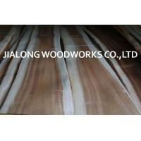 Cheap Natural Sliced Cut Acacia Wood Veneer Sheet For Plywood And Flooring for sale