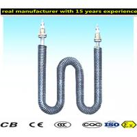 Cheap Durable Finned Tubular Heating Elements Customized Tube Diameters for sale