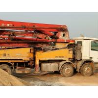 Cheap SANY Brand Used Concrete Pump Truck Steering Wheel Type 12.00R20 Tire for sale