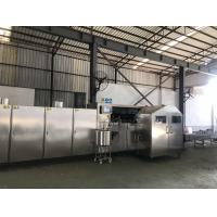 Cheap 5000kg Ice Cream Cone Maker Equipment , Wafer Cone Production Line 3.37 Kw 380V for sale