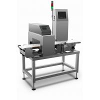 Cheap High speed combined metal detection and check weigher machine for metal detection and weight sorting process for sale