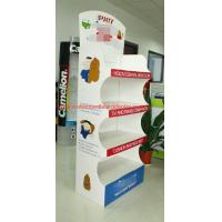 Cheap Customized Temporary pop floor displays , Recycled Point Of Purchase Display stand for sale