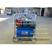 Cheap Diesel Engine And Electric Motor Cow Milking Machine With Jetter Tray Washing for sale