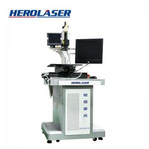 Cheap Logo Printing JPT Desktop Fiber Laser Marking Machine Air Cooling for sale