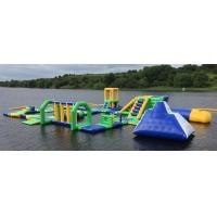 Buy cheap Lake Floating Inflatable Water Park / Inflatable Water Games For Adults And Kids from wholesalers
