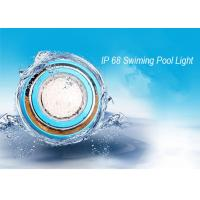 Cheap IP68 Wall Mounted RGB LED Swimming Pool Light / Outdoor LED Pond  Lamp for sale