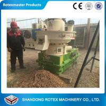Cheap 1-1.5 Ton / H Capacity Biomass Pellet Machine Complete Wood Pellet Production Line for sale