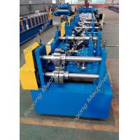 Cheap Automatic Cz Purlin Roll Forming Machine Post Punching Post Cutting for sale