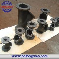 Water treatment pipe fitting cast iron casting with