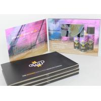 4G Built - In Screen Lcd Video Greeting Card For Graduations , Birthday Parties , Weddings for sale