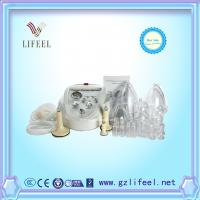 Cheap Female lymphatic drainage and nipple breast pump enlargement breast growing cupping therapy cupping glass cups machine for sale