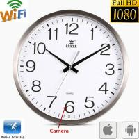 Cheap Wifi Spy Camera Wall Clock Wireless Full Hd 1080P Hidden Video Recorder Spy Video Made in China for sale