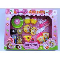 Cheap Multi Colored Dessert Childrens Toy Kitchen Sets For Pretend Role Playing 20 Pcs for sale