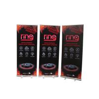 Cheap Floor Standing Roll Up Banner Display Vertical Easy Carry Professional Artwork for sale