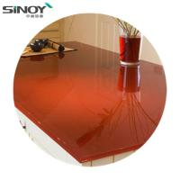Cheap Deco beautiful Lacquered Painted Glass With Paint for sale
