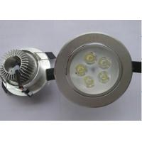 Cheap Bright 5W Recessed LED Ceiling Lights Eco-friendly With Heat Sink for sale