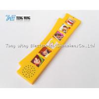 Cheap Orange Durable Button Sound Book Baby sound chips for cards for sale
