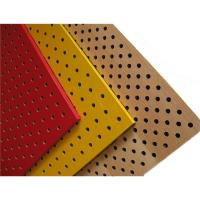 China Perforated Wood Acoustic Panels Gypsum Board Mineral Fiber Acoustical Ceiling Panel on sale