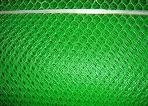 Cheap 0.6cm Hole 5mm Green Plastic Mesh Netting Roll for sale