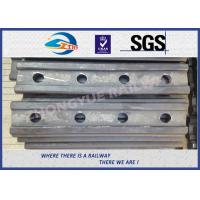 Cheap Standard BS100A Railway Fish Plate For Rail Fastener / Rail Joint Bar for sale