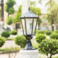 Buy cheap Columnar Solar Powered LED Outdoor Lights For Public Place / Courtyard from wholesalers