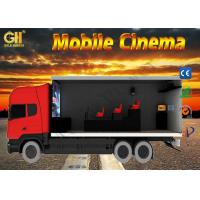 Cheap Attractive 5d Mobile Movie Theater / Outdoor 7D 8D Theater Cinema for sale