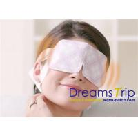 Cheap Real Steam Released Self Heating Eye Mask With Lavender for sale