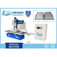 Cheap HWASHI CNC Sink Seamstainless Steel Welder Machine Adjustable Forming Time for sale